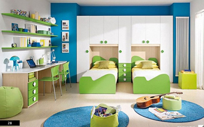 Interior Designs for Teen and Kids Room in Hyderabad